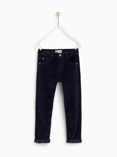 Calças Zara, antes a 15,95€ e agora a 5,99€