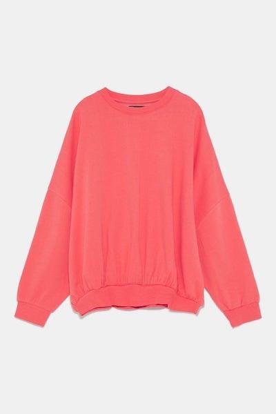 Sweatshirt, Zara, 17,95€