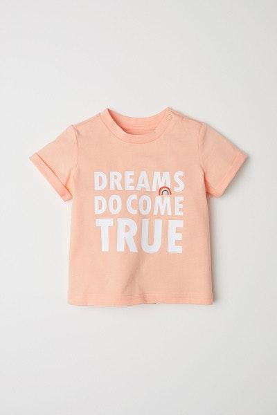 T-shirt H&M, antes a 4,99€ e agora a 3,99€