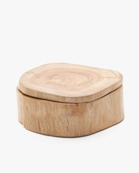 Caixa madeira, Zara Home, 29,99€