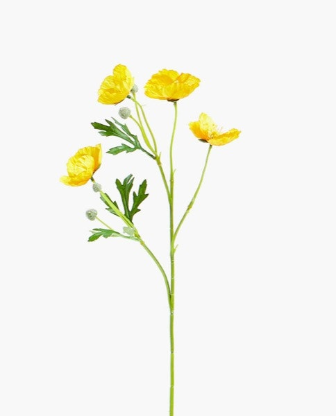 Flor de papoila artificial Zara Home, 7,99€