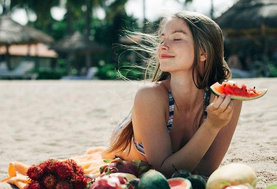 O que comer na praia