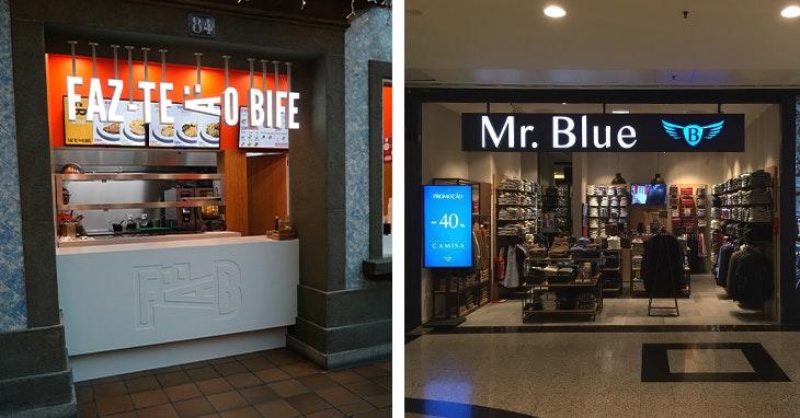 Duas novas lojas que acabam de abrir no ViaCatarina Shopping