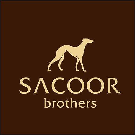 logo Sacoor bege