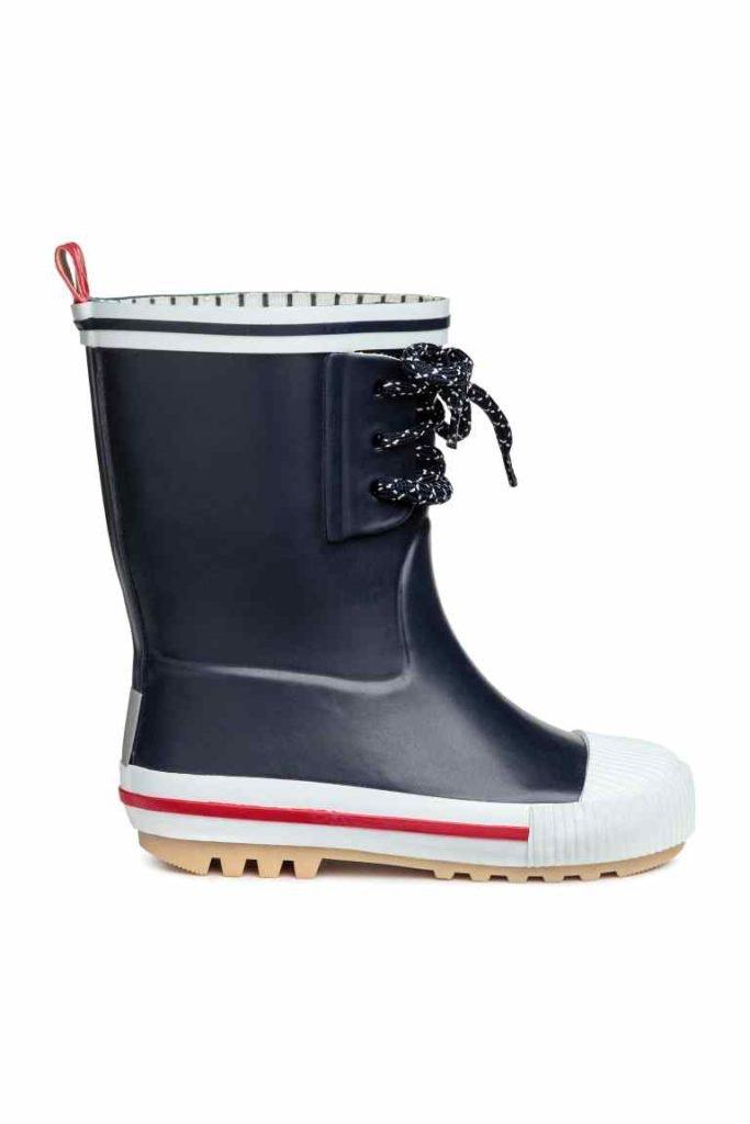 H&M_botas de borracha_agora 13,99€, antes 19,99€