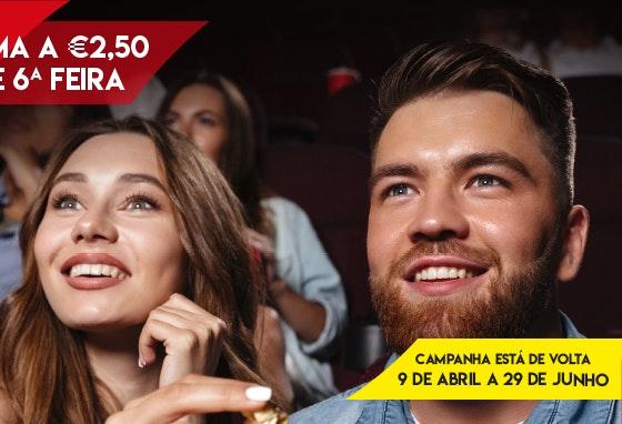 O cinema a 2,5€ está de volta