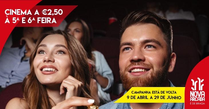 Cinema para ver a 2,5€.