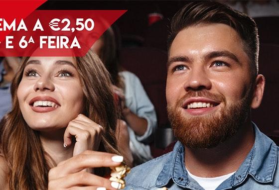 Cinema a 2,5€: agarre já o seu bilhete!