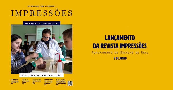 """O lançamento da revista """"Impressões"""" é aqui!"""