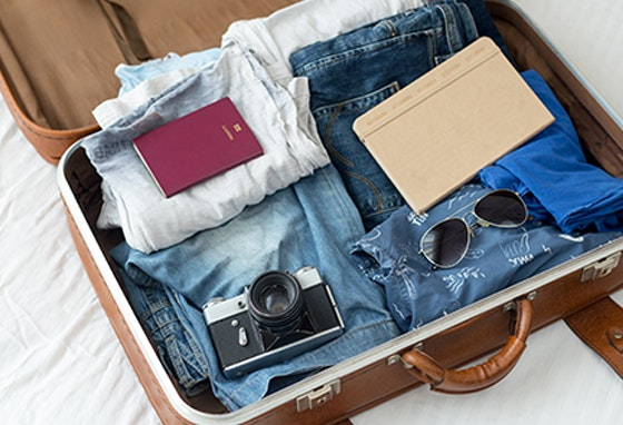 Sabe os melhores segredos para fazer uma mala?
