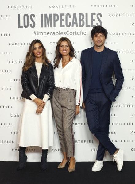 Sara Carbonero, Marie Castelvi e Andrés Velencoso