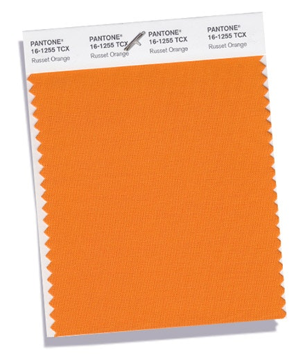 Russet Orange | Inspirado na terra, este tom é quente e natural.