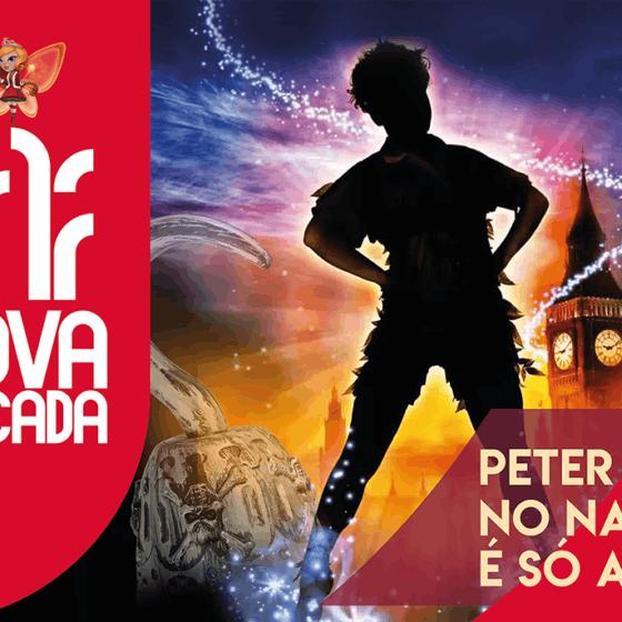 Bandeira Peter Pan Nova Arcada PROVA