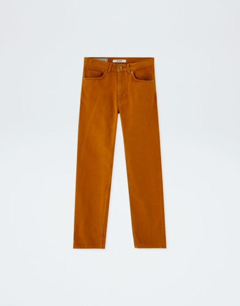 Jeans mostarda, Pull&Bear, 29,99€