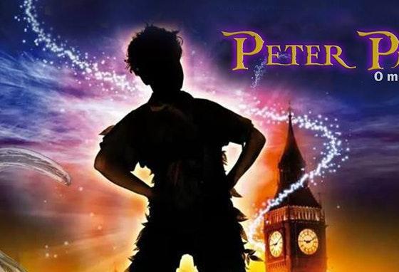 Filme do Peter Pan no nosso Centro.