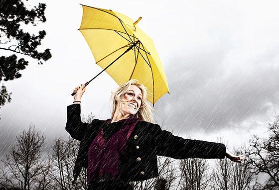 Singin' in the rain!