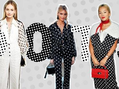 Polka dots: como usar o padrão da moda