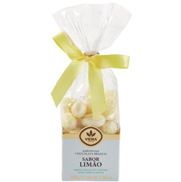 Amêndoas Chocolate Branco e Limão, 3,79€