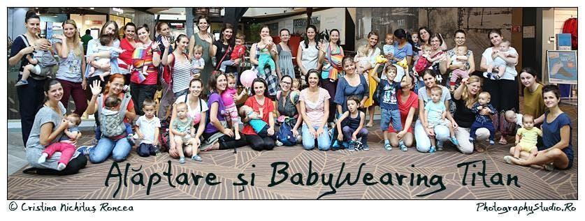Grupul Alăptare și BabyWearing Titan