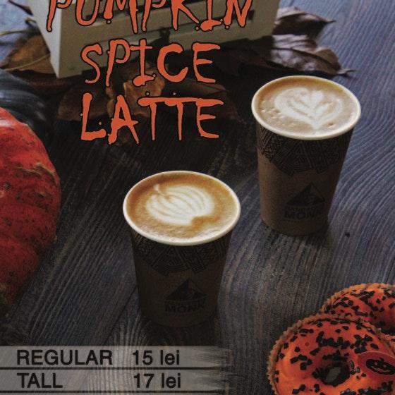 Pumpkin Spice Latte afis