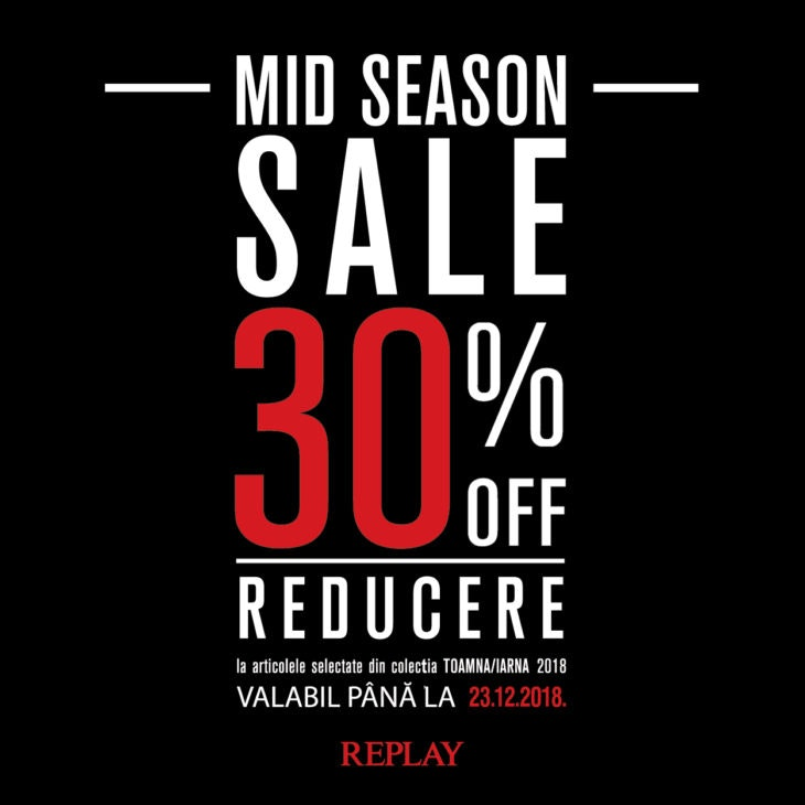 mid season sale REPLAY 600x600px