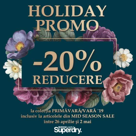 SUPERDRY HOLIDAY PROMO  600x600px