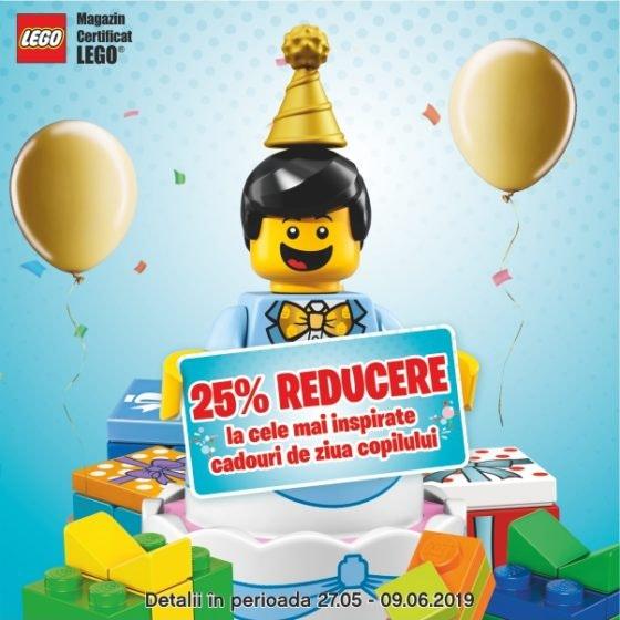 LEGO Brick BDay 600x600px