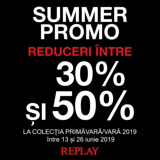 REPLAY SUMMER PROMO 1080x1080px