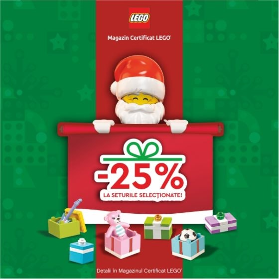 LEGO Brick ONLINE Santa 600x600px