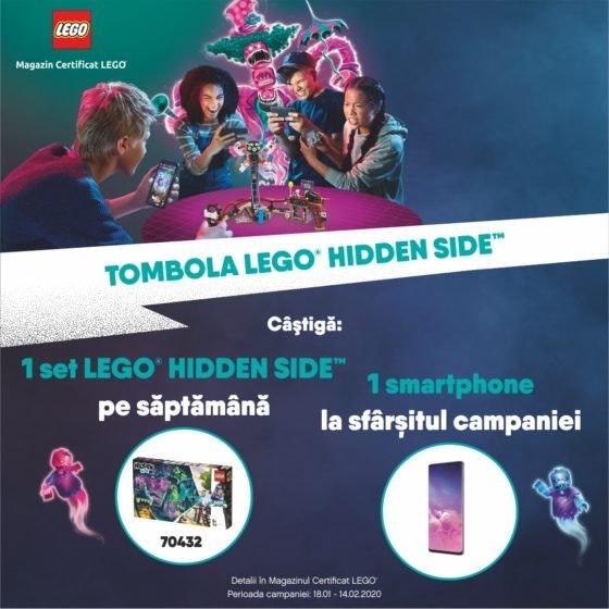 LEGO Brick TOMBOLA Hidden DIGIT 1080x1080px
