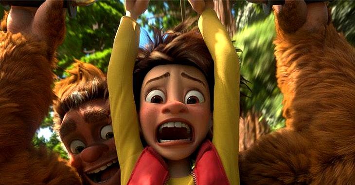 Bigfoot Junior: uma aventura na floresta que junta pai e filho