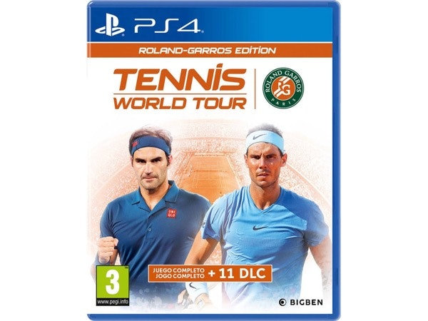 Tennis World Tour Roland Garros Edition, Worten, 59,99€