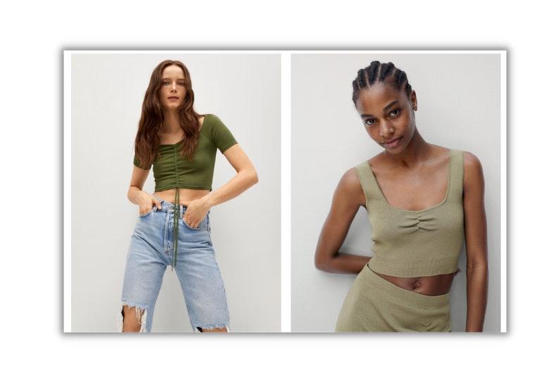 los fruncidos tendencia de moda 2021