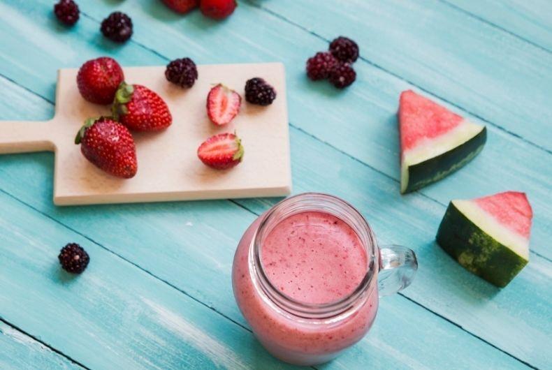 Batidos de frutas para el verano