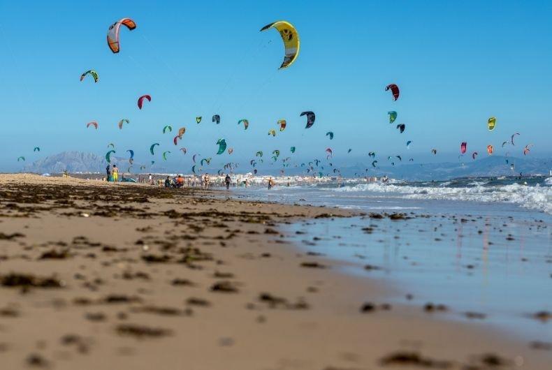 Y el mejor lugar para practicar Kitesurf está en Cádiz