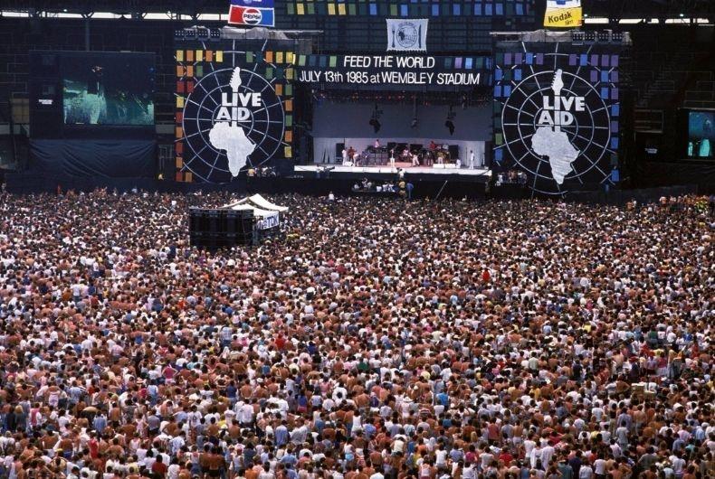 Cada 13 de julio se celebra elDía Mundial del Rock