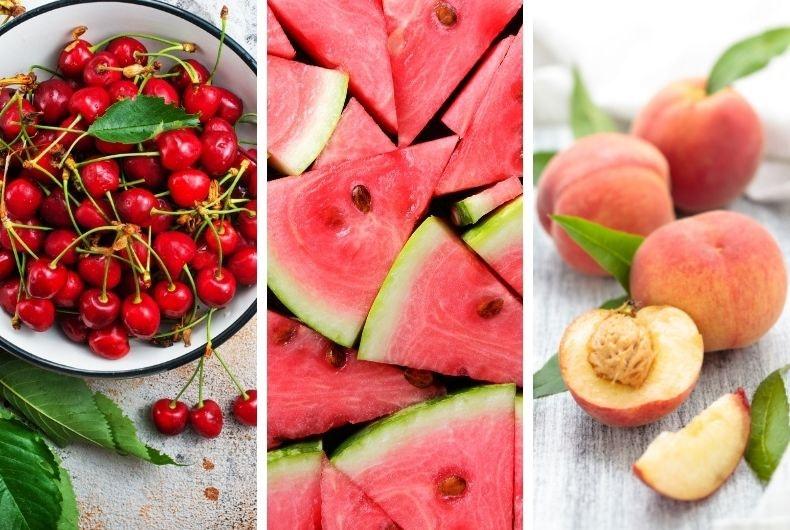 Frutas de verano con efecto antienvejecimiento que cuidarán de tu piel