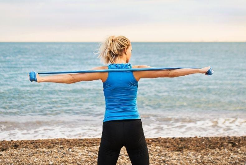 Ejercicio mínimo que debes hacer en vacaciones seguir estando en forma