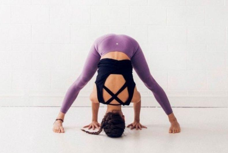 Yoga para evitar las piernas hinchadas