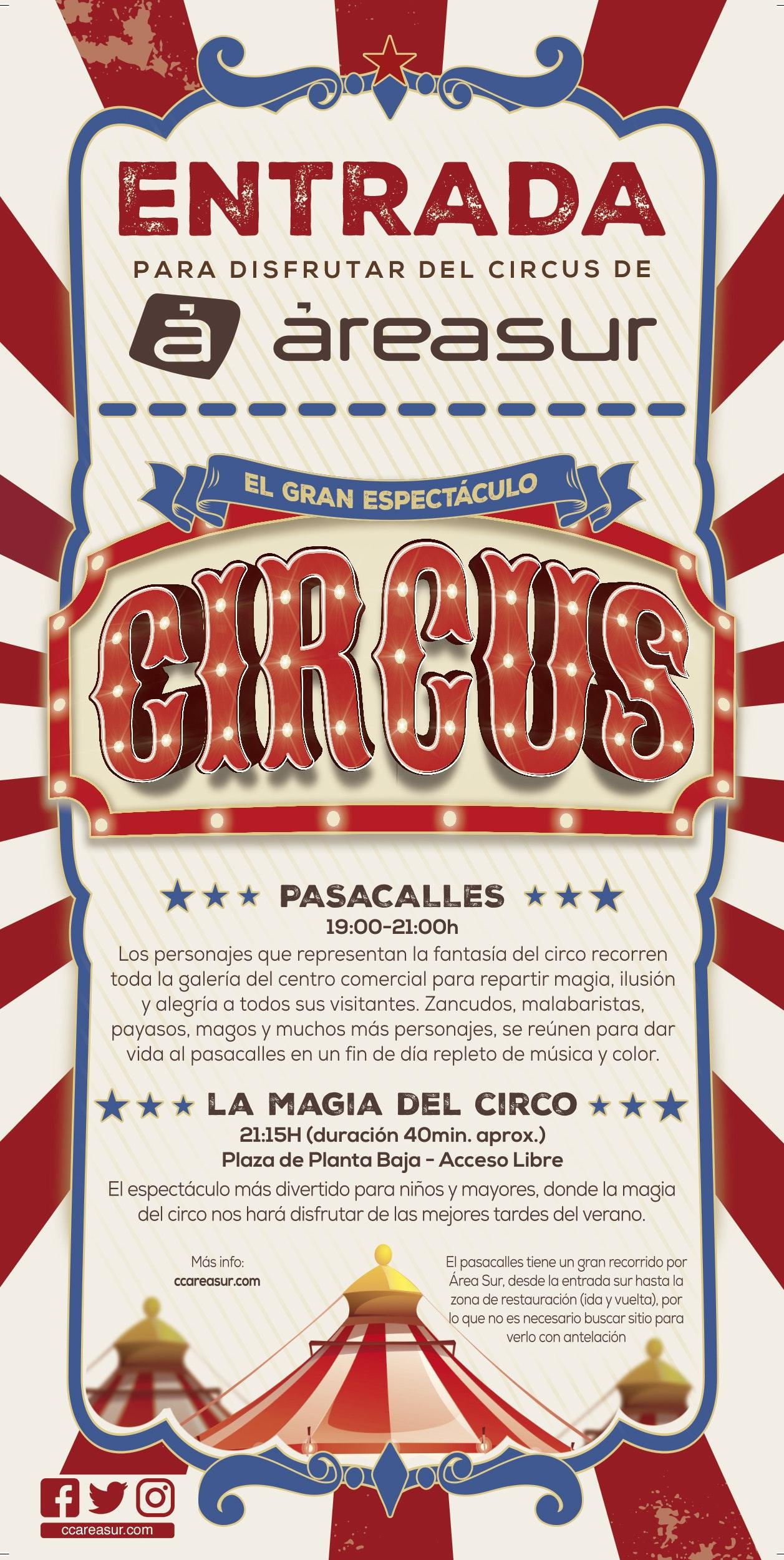 ¡Bienvenidos al espectáculo CIRCUS!