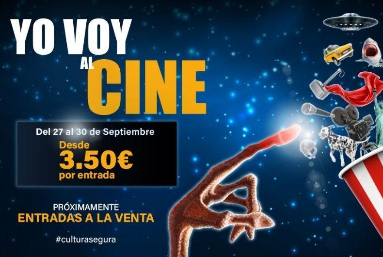 """Vuelve la Fiesta del Cine y tiene nuevo nombre: """"Yo voy al cine"""""""
