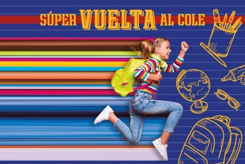 """Del 10 al 18 de septiembre llega """"Súper Vuelta al Cole"""""""
