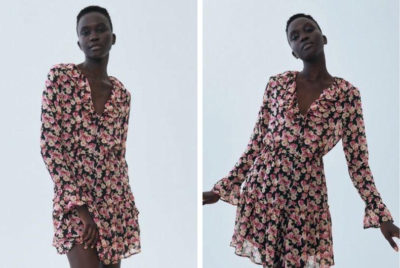 Los mejores vestidos de Zara para llevar con Converse