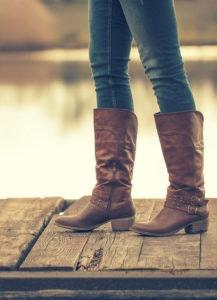 Gli stivali sono il must assoluto dell'autunno.