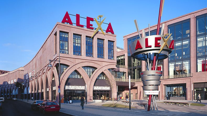 alexa das shoppingcenter in berlin am alexanderplatz. Black Bedroom Furniture Sets. Home Design Ideas