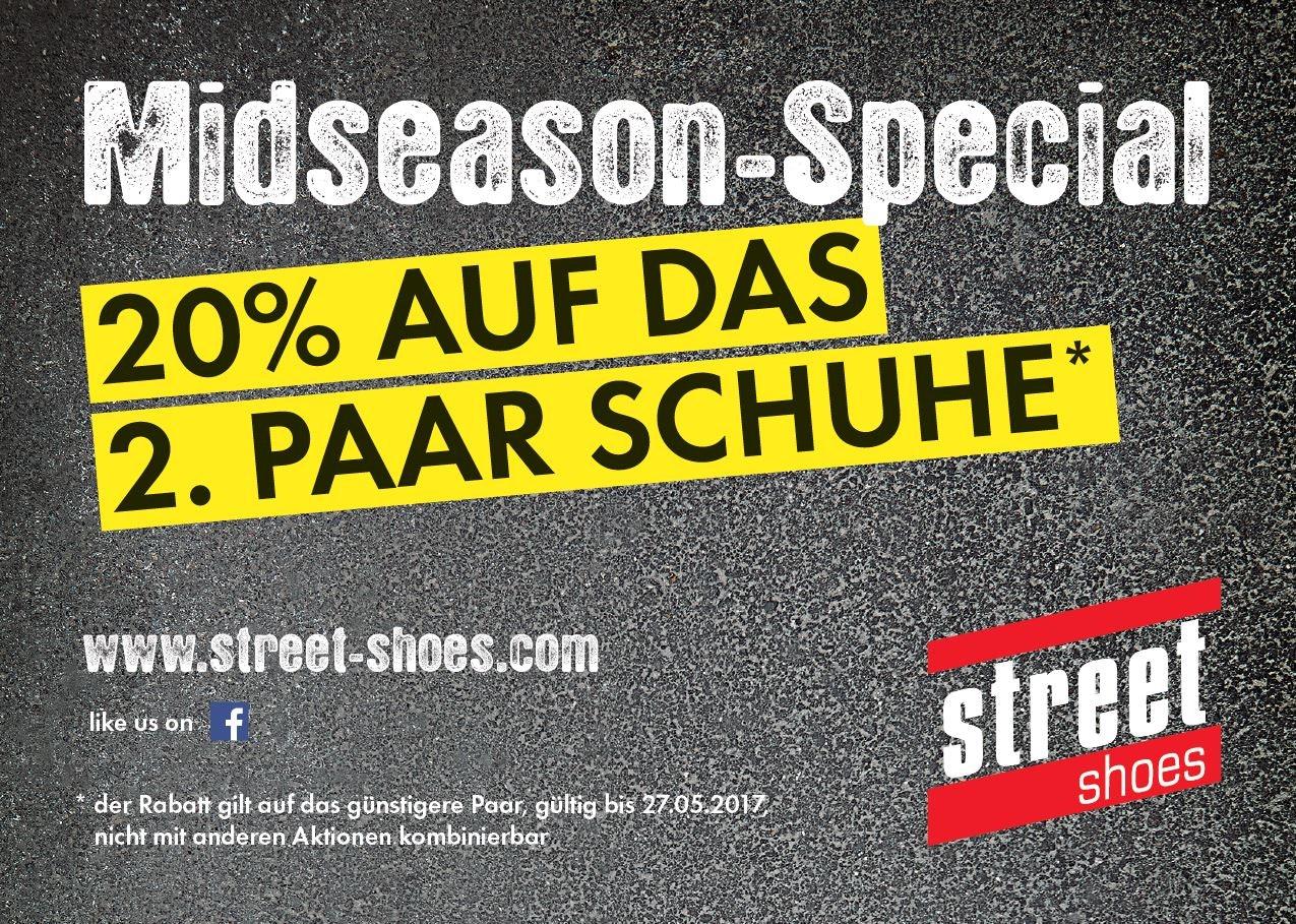 Midseason Special street shoes