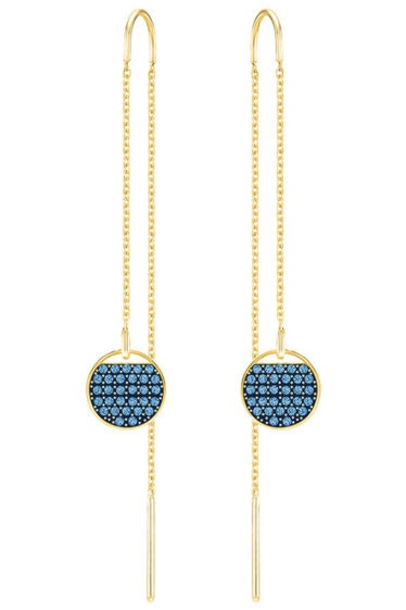 Swarovski-Ginger-Pierced-Earrings-Blue-5273013
