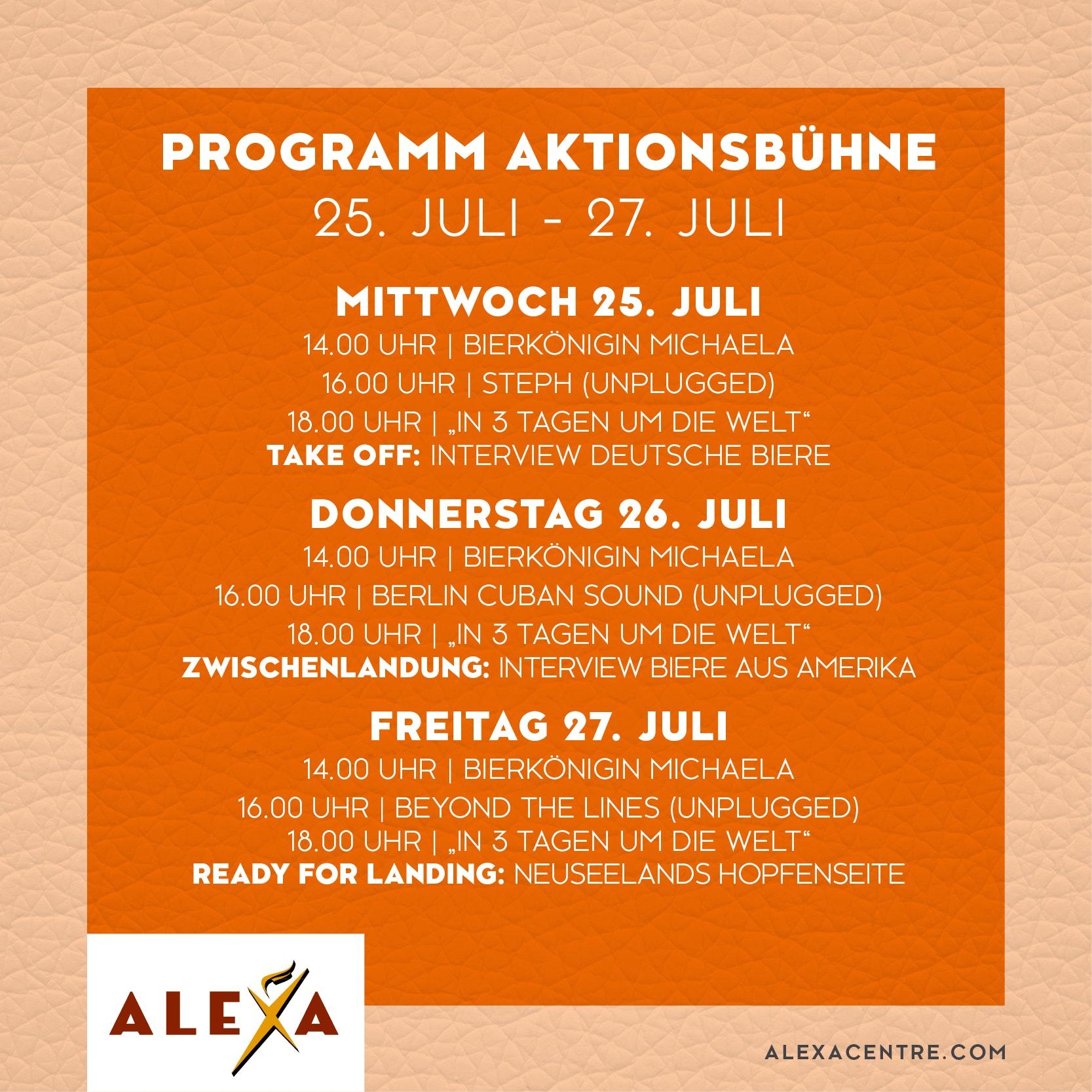 ALE-180084 Vorverkauf Bierfestival Post Programm