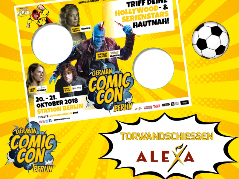 German comic con-Alexa