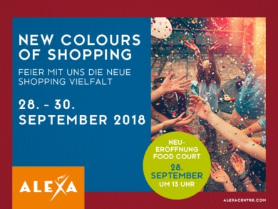 ALEXA Berlin – New Colours of Shopping